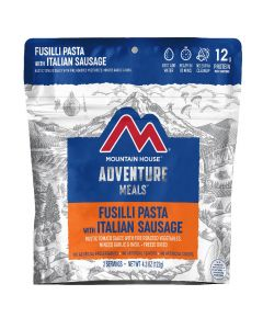 Mountain House Fusilli Pasta with Italian Sausage Adventure Meal - Front