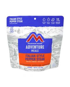 Mountain House Italian Style Pepper Steak with Rice and Tomatoes Adventure Meal