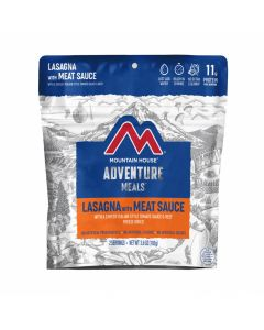 Mountain House Lasagna with Meat Sauce Adventure Meal - Front
