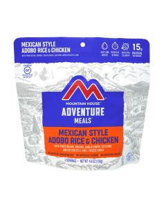 Mountain House Mexican Style Adobo Rice and Chicken Adventure Meal