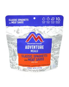 Mountain House Spaghetti with Meat Sauce Adventure Meal - Front