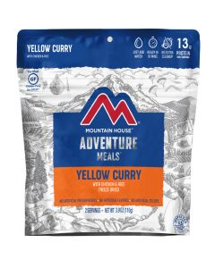 Mountain House Yellow Curry with Chicken & Rice Adventure Meal - Front