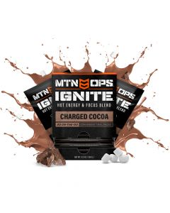 MTN OPS Hot Ignite Trail Packs Supercharged Energy & Focus