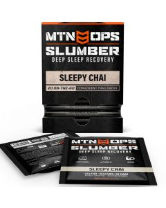 MTN OPS Slumber Trail Packs - Deep Sleep Recovery - Sleepy Chai