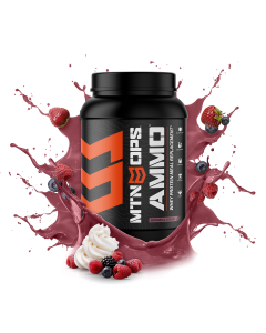 MTN OPS Ammo - Protein Meal Replacement berries and cream