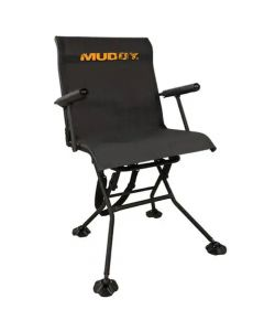Muddy Outdoors Swivel Seat with Adjustable Legs