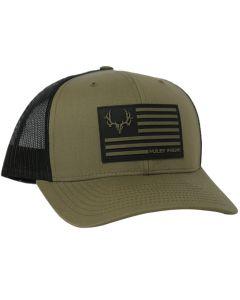 Muley Freak Flag Snapback Cap