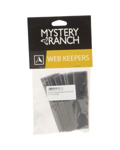 Mystery Ranch Web Keepers - 10 Pack - Charcoal