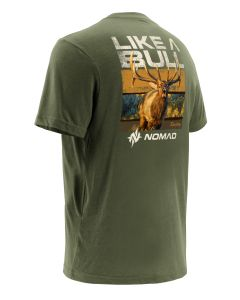 Nomad Kirby Proud Tee Military Olive Green