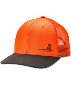 Orvis Mesh Back Waxed Brim Hat