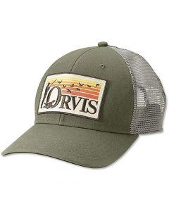 Orvis Retro Flush Trucker Hat