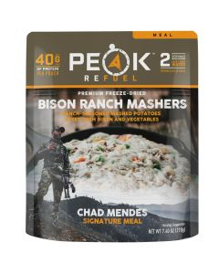 Peak Refuel Bison Ranch Mashers Chad Mendes Signature Meal Pouch