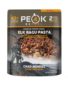 Peak Refuel Elk Ragu Pasta Chad Mendes Signature Meal Pouch