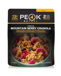 Peak Refuel Mountain Beery Granola Pouch