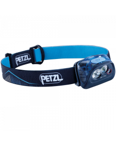 Petzl Actik 350 Lumen Handlamp- Blue
