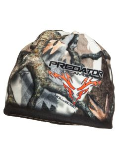 Predator Camo Reversible Fleece Beanie - 3D Deception - Fall Gray