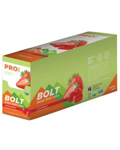 PROBAR Bolt Strawberry Organic Energy Chews - 12-Pack
