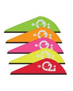 Q2I Zeon 2 inch Zeon Rapt-X Vanes 50 Pack