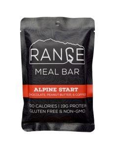 Range Meal Bar Alpine Start Chocolate Peanut Butter & Coffee Bar