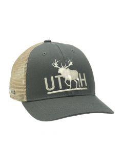 RepYourWater Utah Bull Elk Mesh Back Hat 1