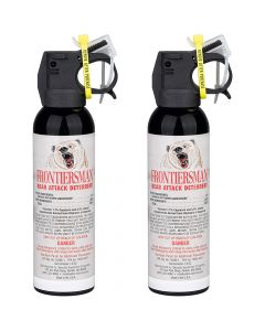 SABRE Frontiersman 7.9oz 2-Pack Bear Spray