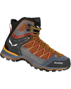 Salewa Mountain Trainer Lite Mid Gore-Tex Men's Shoes - Black-Out Carrot