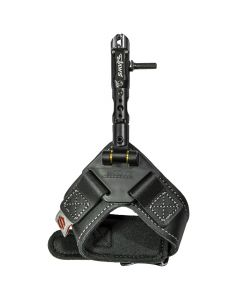 Scott Archery Jaws Black Leather Strap Archery Release