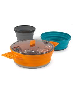 Sea To Summit X Set 21 - 3 Piece Collapsible Cooking Set