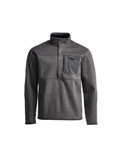 Sitka Front Range Snap Fleece Long Sleeve Shirt - Lead