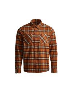 Sitka Riser Work Long Sleeve Shirt - Copper Plaid