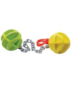 SME Dueling Balls & Chain Self Healing Pistol Target