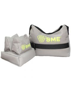 SME Gun Rest Unfilled Front & Rear Shooting Bags