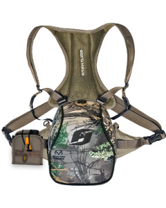SOLO HNTR Binocular System Combo with Rangefinder Pouch - Realtree Max-1