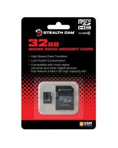 Stealth Cam 32GB Micro SD Card
