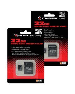 Stealth Cam 32GB SD Card 2 Pack