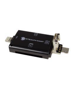 Sealth Cam Tri-Device Memory Card Reader
