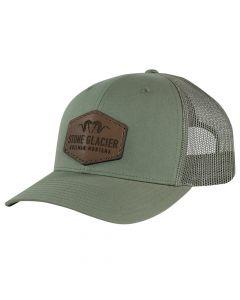 Stone Glacier Leather Patch Trucker Hat
