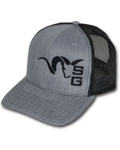 Stone Glacier Ram Trucker Hat - Grey