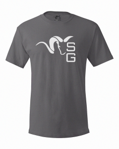 Stone Glacier SG Ram T-Shirt - Gray- Front