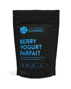 Stowaway Gourmet Berry Yogurt Parfait Freeze-Dried Meal