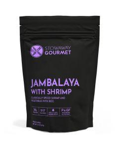 Stowaway Gourmet Jambalaya with Shrimp Freeze-Dried Meal