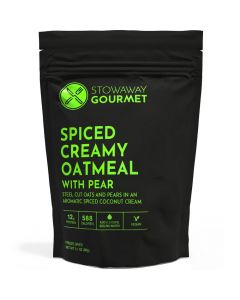 Stowaway Gourmet Spiced Creamy Oatmeal with Pear Freeze-Dried Meal