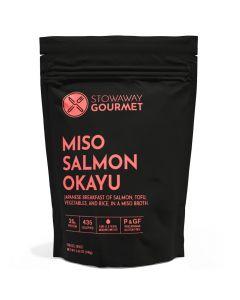 Stowaway Gourmet Miso Salmon Okayu Freeze-Dried Meal