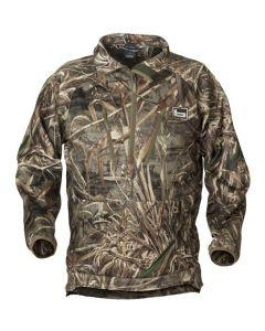 Banded Heavy TEC Fleece Half Zip Pullover 1