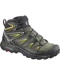 Salomon X Ultra 3 Mid GTX Hiking Shoes - Castor Grey