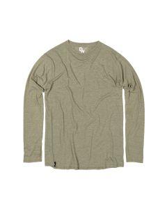 Duckworth Men's Vapor Merino-Blend Long Sleeve Tee - Spruce