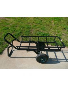 Viking Solutions Tilt-N-Go Universal Cargo Carrier with Hitch Mount