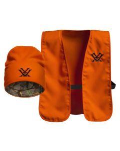 Vortex Blaze Beanie and Vest Combo