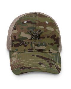 Vortex Multi-Cam Logo Cap