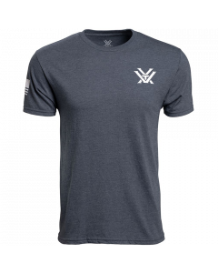 Vortex Patriot Short Sleeve T-Shirt - Navy - Front